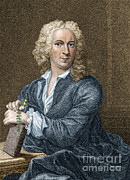 Taxonomist Posters - Carl Linnaeus, Swedish Botanist Poster by New York Public Library