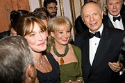 Award Prints - Carla Bruni-sarkozy, Barbara Walters Print by Everett