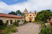 Fray Prints - Carmel Mission Print by Martin Nunez