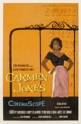 1950s Fashion Framed Prints - Carmen Jones, Dorothy Dandridge, 1954 Framed Print by Everett