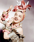Layered Prints - Carmen Miranda, Ca. Early 1940s Print by Everett