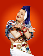 Concho Belt Photos - Carmen Miranda, Ca. Mid-1940s by Everett