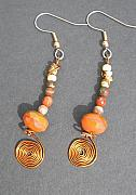 Earrings Jewelry - Carnelian dream by Angie DElia