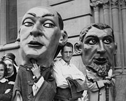 Human Head Art - Carnival Effigies by Three Lions