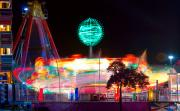 Lightning Decorations Photo Prints - Carnival Excitement Print by James Bo Insogna
