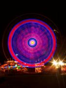 Lightning Decorations Photo Prints - Carnival Hypnosis Print by James Bo Insogna