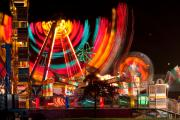 Lightning Decorations Photo Prints - Carnival in Motion Print by James Bo Insogna
