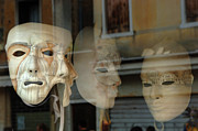 Venice Photo Prints - Carnival Masks Print by Bob Christopher