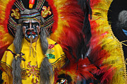 Andes Posters - Carnival of Oruro. Dance of the Toba. Republic of Bolivia. Poster by Eric Bauer