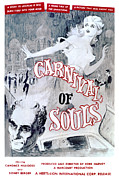 1960s Poster Art Photo Framed Prints - Carnival Of Souls, Candace Hilligoss Framed Print by Everett
