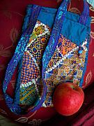 Embroidered Tapestries - Textiles - Carnivale  Nomadic Bag by Krisha Fairchild