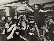 Wine Cellar Photos - Carol Lawrence B. 1932 Receives by Everett