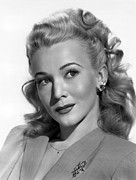 1940s Hairstyles Photos - Carole Landis, Ca. Mid-1940s by Everett