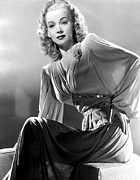 Publicity Shot Framed Prints - Carole Landis, Publicity Shot, Ca. 1944 Framed Print by Everett