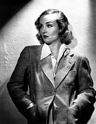 Hands In Pockets Framed Prints - Carole Lombard, Ca. 1930s Framed Print by Everett
