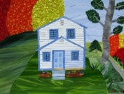 Cottage Glass Art - Carolina Jewel by Charles McDonell