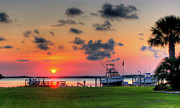 Get Away Photos - Carolina Sunset I by David Hahn