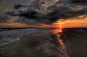 Get Away Photos - Carolina Sunset II by David Hahn