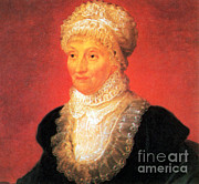 Comets Posters - Caroline Herschel, German-british Poster by Science Source