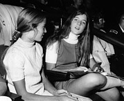 Candid Family Portraits Posters - Caroline Kennedy, Almost 14 Years Old Poster by Everett