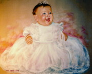Gown Pastels - Carols Niece by Larry Whitler