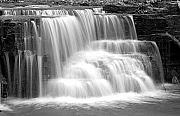 Caron Prints - Caron Falls Print by Larry Ricker
