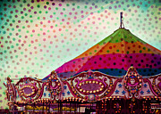 Nikon Digital Art - Carousel Dots by Sonja Quintero