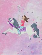 Carousel Dreams Print by Ruth Collis