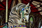 Amusement Ride Posters - Carousel Horse 3 Poster by Paul Ward