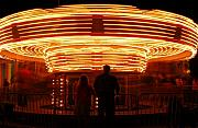 Timelapse Framed Prints - Carousel Kaliedoscope Framed Print by Owen Ashurst