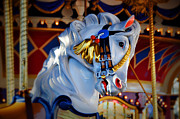 Galloper Prints - Carousel Print by Lyle  Huisken