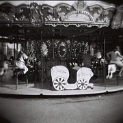 """black And White\""  Framed Prints - Carousel Framed Print by Lynn-Marie Gildersleeve"