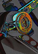 Color Wheel Art Prints - Carousel Print by Robert Meanor