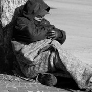 Homeless Photos - Carpet Pad Blanket by David Patterson