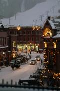 Colorado Photos - Carriage And Slded On Snowy Steets by Paul Chesley