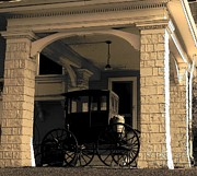 Carriages Photo Posters - Carriage Sketch Poster by Joyce  Kimble Smith