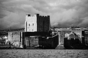 Sea View Art - Carrickfergus Castle Carrick County Antrim Northern Ireland Uk Viewed From The Sea by Joe Fox
