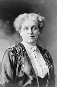 Chapman Framed Prints - Carrie Chapman Catt 1854-1947 Was A Key Framed Print by Everett