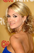 All-star Framed Prints - Carrie Underwood In Attendance For Cnn Framed Print by Everett
