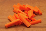 Crunch Prints - Carrot Sticks Print by Louise Heusinkveld