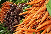 Photography - Carrots and Beets by Cathie Tyler