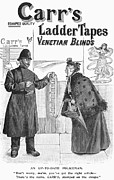 Venetian Blinds Photos - Carrs Ladder Tapes, 1897 by Granger