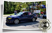 Subaroots Art - Cars Crossing 64 by PhotoChasers