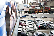 Workplace Framed Prints - Cars Parked in a Parking Lot Framed Print by Eddy Joaquim