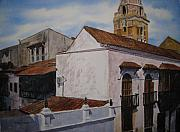 Cartagena Prints - Cartagena Sky Print by Shirley Braithwaite Hunt