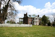 Franklin Tennessee Prints - Carter House And Carnton Plantation Print by John Black