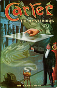 Illusionist Posters - Carter The Mysterious Poster by Unknown