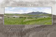Lewistown Posters - Carters Pond Poster by Susan Kinney