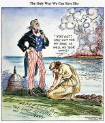 Cartoon: U.s. Intervention Print by Granger