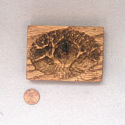 Buzzard Reliefs - Carved ACEO   by Roger Swezey